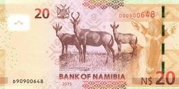 NAMIBIA P. 17 20 D 2015 UNC - Namibie