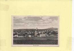 Cp Slavonice Zlabings 1938 En Franchise - Czech Republic