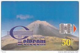 "Cape Verde,CPV -16, Volcano: ""VULCÃO Ilha Do FOGO"", 2 Scans. - Kaapverdische Eilanden"