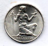 SWITZERLAND, 5 Francs, Silver, Year 1936, KM #41 - Suisse