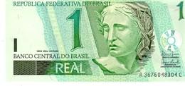 Brazil P.251 1 Real 2003  Unc - Brasile