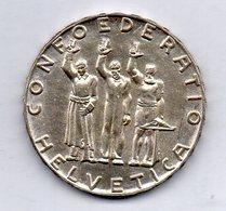 SWITZERLAND, 5 Francs, Silver, Year 1941, KM #44 - Suisse