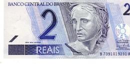 Brazil P.249 2 Reais 2001 Unc - Brasile
