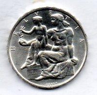 SWITZERLAND, 5 Francs, Silver, Year 1948, KM #48 - Suisse