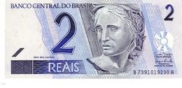 Brazil P.249 2 Reais 2001 Unc - Brazil