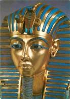 Art - Antiquité - Egypte - Treasures Of Tutankhamun - The Gold Mask - Carte Neuve - CPM - Voir Scans Recto-Verso - Antiquité