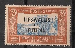 Wallis Et Futuna - 1930-38 - N°Yv. 55 - Case De Chef 65c - Neuf Luxe ** / MNH / Postfrisch - Wallis Und Futuna