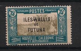 Wallis Et Futuna - 1930-38 - N°Yv. 56 - Case De Chef 75c Vert Bleu - Neuf Luxe ** / MNH / Postfrisch - Wallis Und Futuna