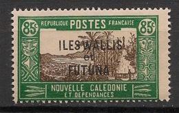 Wallis Et Futuna - 1930-38 - N°Yv. 56B - Case De Chef 85c - Neuf Luxe ** / MNH / Postfrisch - Wallis Und Futuna