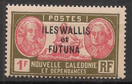 Wallis Et Futuna - 1930-38 - N°Yv. 58 - Bougainville 1f - Neuf Luxe ** / MNH / Postfrisch - Wallis Und Futuna
