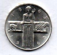 SWITZERLAND, 5 Francs, Silver, Year 1963, KM #51 - Schweiz