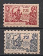 Wallis Et Futuna - 1939 - N°Yv. 70 à 71 - Exposition New York - Neuf * / MH VF - Wallis Und Futuna