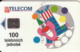 CZECH REPUBLIC - Onkologie, CN : C34041435, Chip SC5, 05/93, Used - Tsjechië