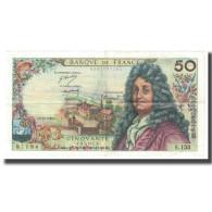 France, 50 Francs, Racine, 1969, 1969-11-06, TTB+, Fayette:64.15, KM:148c - 1962-1997 ''Francs''