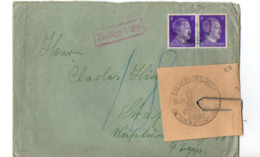 B18 194... Lettre Dee Berlin  Pour Strasbourg    (elsass) + Photocopie De Cachet - Deutschland
