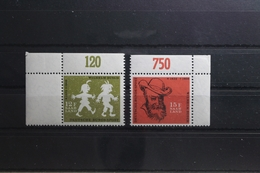 Saarland 429-430 ** Postfrisch Mit Oberrand #TV053 - 1947-56 Allierte Besetzung