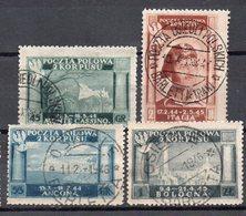 CORPO POLACCO In Italia 1945 Battaglie - Serie Completa Timbrata. - Sammlungen (ohne Album)