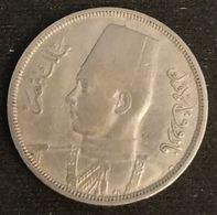 EGYPTE - EGYPT - 5 MILLIEMES 1938 - ( 1357 ) - KM 363 - Egypte