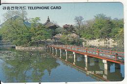 SOUTH KOREA - Hyangwon Hall In Gyeongbok Palace(W2000), 12/91, Used - Korea (Zuid)