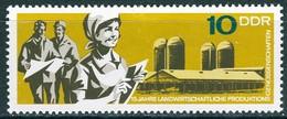 DDR - Mi 1332 - ** Postfrisch (E) - 10Pf               15 Jahre LPG - [6] République Démocratique