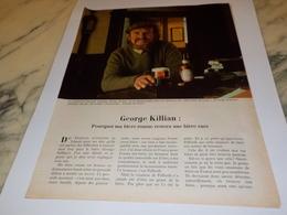 ANCIENNE PUBLICITE BIERE GEORGE KILLIAN BIERE PELFORTH ROUSSE 1979 - Afiches