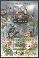 Tr_ Tschechische Republik  - Mi.Nr. Block 38 - Postfrisch MNH - Tiere Animals - Non Classés