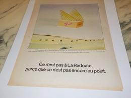 ANCIENNE  PUBLICITECE N EST PAS  LA REDOUTE ROUBAIX 1978 - Vintage Clothes & Linen