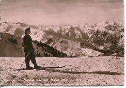 Montagne Di Frabosa Viste Dal Monte Moro  - Viaggiata 1951 - Italia