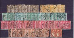 Ägypten, Egypt: Lot 1888-1906, 71stamps, For The Specialist - 1866-1914 Khedivato Di Egitto