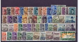 Ägypten, Egypt: Lot 1922-53, 53 Diff. Used Stamps - Non Classificati