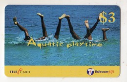 FIDJI TELECARTE 3$ Aquatic Playtime - Fiji