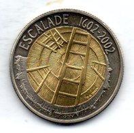 SWITZERLAND, 5 Francs, Bimetallic, Year 2002, KM #98 - Schweiz