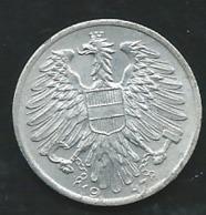 1947 - Autriche - Austria - 1 SCHILLING              LAUPI 12405 - Austria