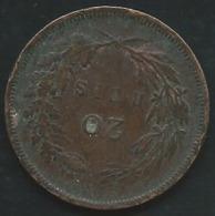 Portugal 20 Reis 1892            LAUPI 12406 - Portugal