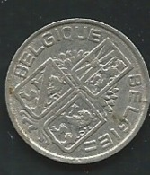 1 Franc Belgique 1939    LAUPI 12408 - 1934-1945: Leopold III.