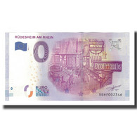Allemagne, Billet Touristique - 0 Euro, Germany - Rüdesheim Am Rhein - - Allemagne