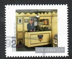 Sc. # 2633 Art, Photography, Rodney Graham, Basement Camera Shop, U S. Rate Single 2013 Used K660 - 1952-.... Règne D'Elizabeth II