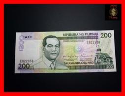 PHILIPPINES 200 Piso 2002 P. 195 A   UNC - Philippines