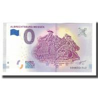 Allemagne, Billet Touristique - 0 Euro, Germany - Meissen - Château Gothique - Deutschland