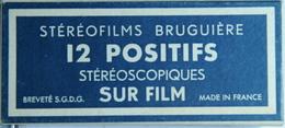 BRUGUIÈRE  STÉRÉOFILMS  :  71   LAC LEMAN - RIVE SUISSE - Stereoscopi