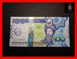 TURKMENISTAN 100 Manat 2017 P. 41 *COMMEMORATIVE*  UNC - Turkménistan