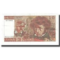 France, 10 Francs, Berlioz, 1976, 1976-07-01, SUP+, Fayette:63.19, KM:150c - 1962-1997 ''Francs''
