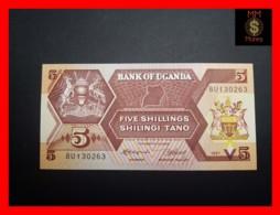 UGANDA 5 Shillings 1987 P. 27  UNC - Oeganda