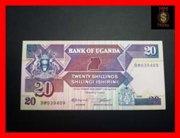 UGANDA 20 Shillings 1988 P. 29 B  UNC - Uganda