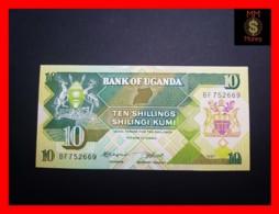 UGANDA 10 Shillings 1987 P. 28   UNC - Oeganda
