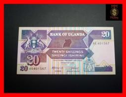 UGANDA 20 Shillings 1987 P. 29 A  UNC - Uganda