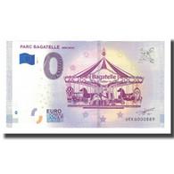 France, Billet Touristique - 0 Euro, 62/ Merlimont - Parc D'Attractions - - Frankrijk