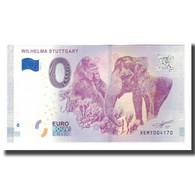 Allemagne, Billet Touristique - 0 Euro, Germany - Stuttgart - Jardin Botanique - Deutschland