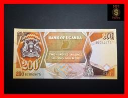 UGANDA 200 Shillings 1991 P. 32 B  UNC - Uganda