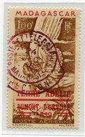 !!! PRIX FIXE : TAAF, PA N°1 CACHET VIOLET POSTES ET TELEGRAPHES MADAGASCAR, DIRECTION DU 24/12/1948 SIGNE CALVES - Terres Australes Et Antarctiques Françaises (TAAF)